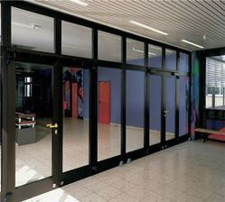 Cladding And Glazing Services Aluminium Shop Front Doors